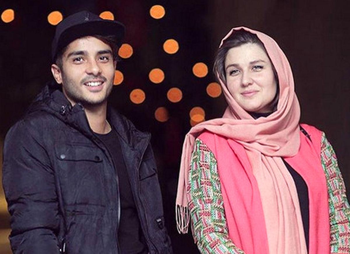 عکس متفاوت ساعد سهیلی و همسر خارجیاش +عکس