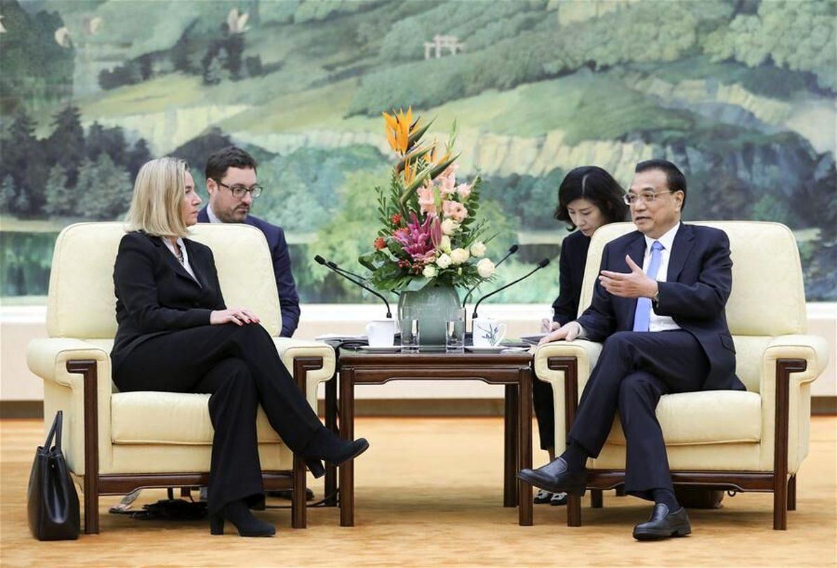 اروپا مایل به تقویت همکاری با چین در مساله هسته ای ایران است