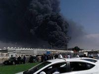آتش سوزی هولناک در جده +فیلم