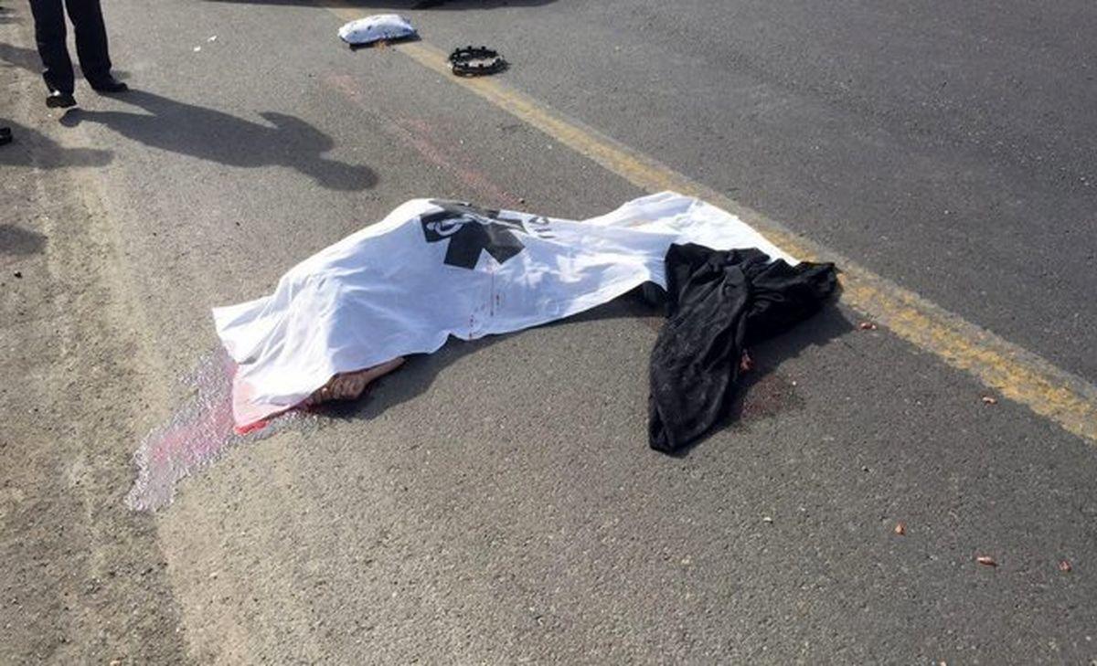 مرگ سارق پراید در قم در پی سانحه رانندگی