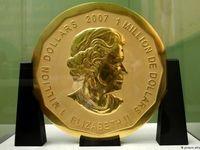 سکه طلای ۱۰۰کیلویی به سرقت رفته از موزه برلین +عکس