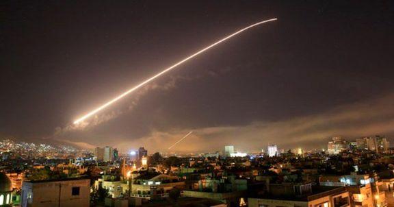 سانا: حمله موشکی به پایگاه هوایی الشعیرات دفع شد