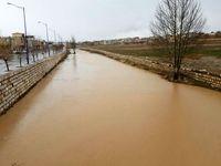 کاهش حجم آب در مناطق سیلزده