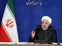 روحانی: امروز آمریکا شکست خورد