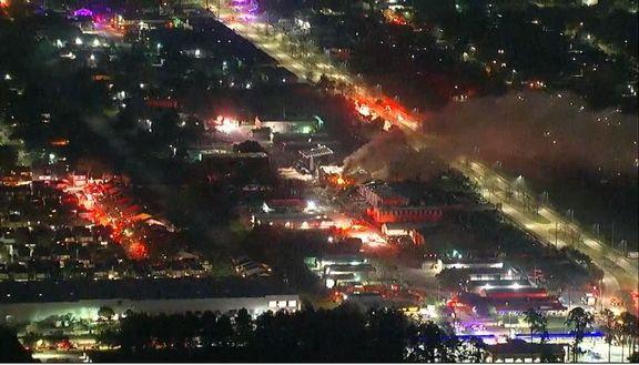 وقوع انفجار شدید در هوستون آمریکا