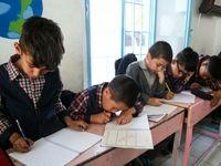 مدرسه اتباع افغانستانی در تهران +عکس