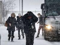 بارش شدید برف و باران در غرب آمریکا +تصاویر
