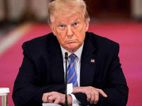 علایم کرونای ترامپ خفیف است