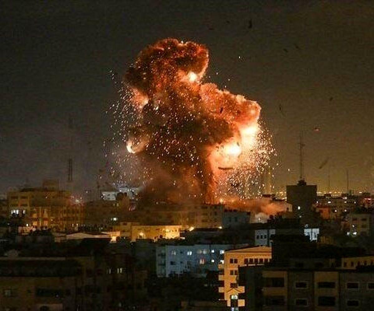 بمباران مجدد غزه توسط جنگنده های رژیم صهیونیستی