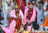 عروسی در شهر بیوههای هند +تصاویر
