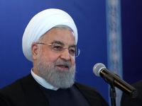 روحانی: آمریکا فکر میکرد در ۳ماهه اول به زانو در میآییم +فیلم
