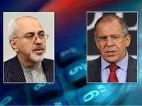 رایزنی تلفنی ظریف با لاوروف درباره تبادلات انرژی ایران و روسیه