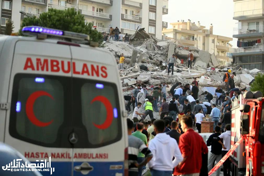 ازمیر بعد از زلزلـه