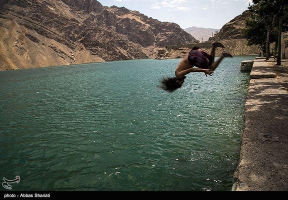 ۱۳ تهرانی در دریاچه سدهای تهران غرق شدند