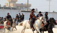 مسابقه بزکشی در افغانستان +عکس