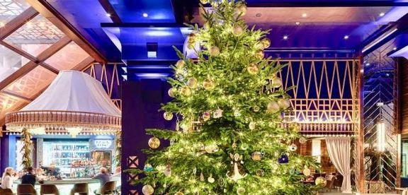 گرانترین درخت کریسمس جهان چگونه تزیین شده است؟ +عکس