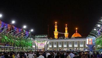 حال و هوای کربلا در شب میلاد امام حسن(ع) +تصاویر