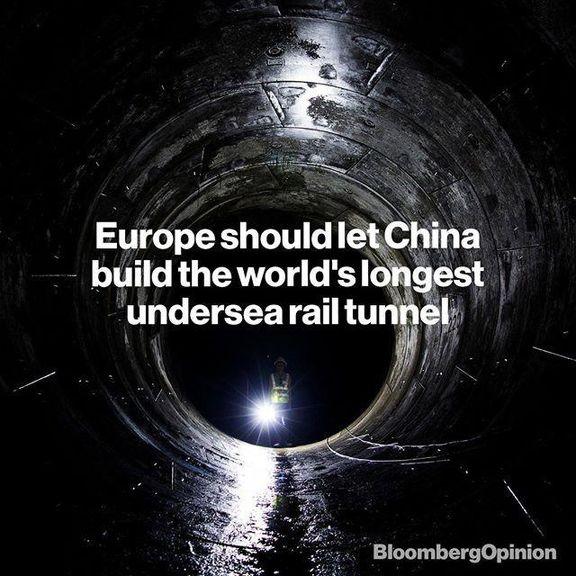 ساخت طولانیترین تونل زیردریایی جهان به کجا رسید؟