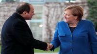 مرکل در تماس با رییسجمهور مصر بر ثبات آتش بس تاکید کرد