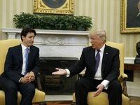 گاف تاریخی ترامپ در گفتوگو با نخستوزیر کانادا