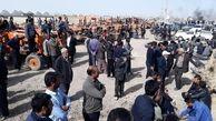 کشاورزان اصفهانی بار دیگر تجمع کردند