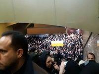 شلوغی گسترده مترو، امکان تخلیه مسافران نیست