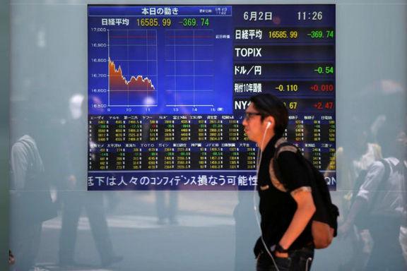 نوسان بازارهای سهام آسیایی