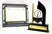 کسب ۵رتبه برتر در جشنواره ملی انتشارات روابط عمومی، توسط بیمه ملت
