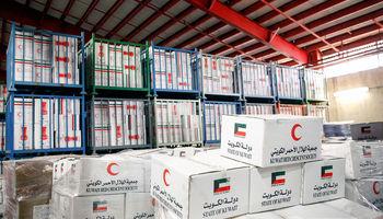 کمکهای بشردوستانه کویت به سیلزدگان وارد کشور شد