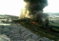 آتشسوزی در قطار پردیس تهران ـ مشهد مهار شد