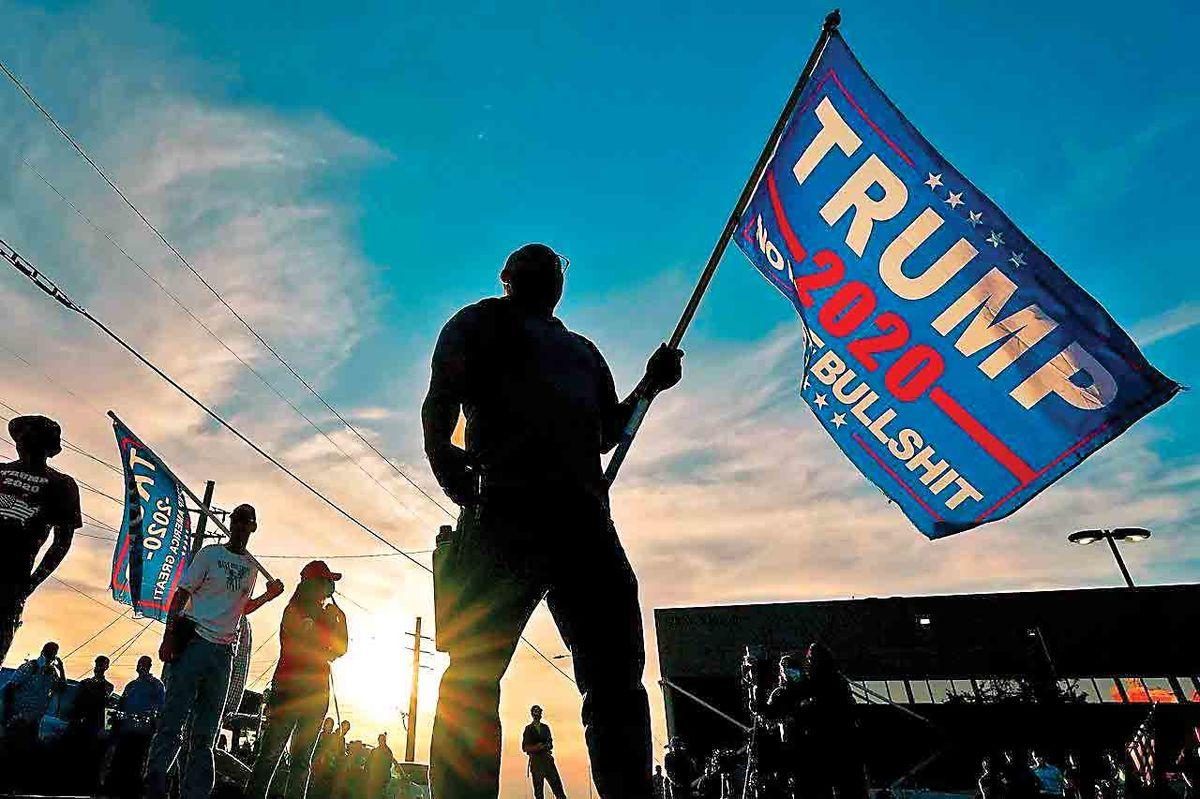 ترامپ: تاریخچهای از مشکلات انتخاباتی در آمریکا داریم