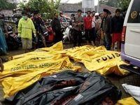 اجساد قربانیان سونامی اندونزی +عکس