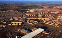 اصابت ۵راکت به پایگاه البلد در شمال بغداد