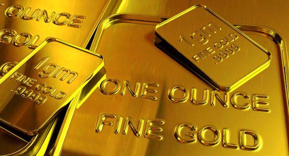 کاهش 1.6دلاری قیمت طلا در بازار جهانی