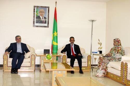 رایزنی سفیر ایران با نخست وزیر موریتانی