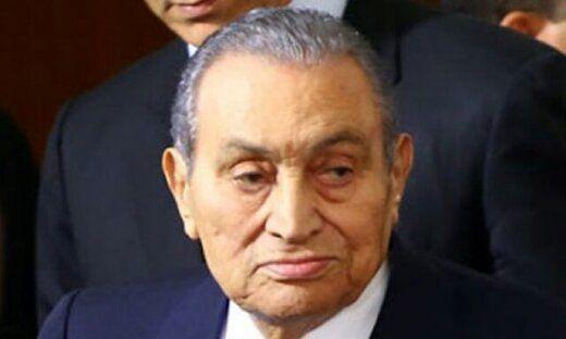 حسنی مبارک درگذشت