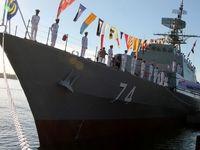 الحاق پیشرفتهترین ناوشکن بومی غرب آسیا به نیروی دریایی ارتش +عکس