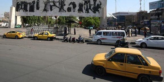 اعلام منع قانون آمد و شد در بغداد