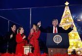 چراغ کریسمس در کاخ سفید روشن شد +تصاویر