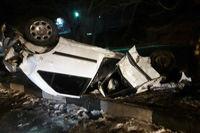 تصادف ۳کشته و یک مصدوم برجای گذاشت