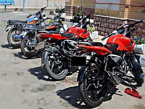 ترفند پیچیده برای سرقت موتورسیکلتهای فروشی