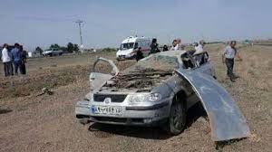 3کشته در واژگونی خودرو