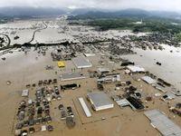 قربانیان سیل و طوفان ژاپن به ۱۲۲ نفر افزایش یافت