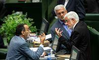 تصویری جالب از عارف و نماینده جنجالی مجلس