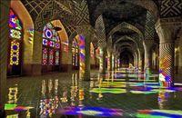 مسجد نصیرالملک شیراز +عکس
