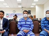 ۲۱ متهم کلان ارزی در دادگاه +عکس
