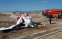 علت سانحه سقوط هواپیما در فرودگاه اراک اعلام شد