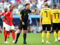 بلژیک با شکست انگلیس تیم سوم جام جهانی شد