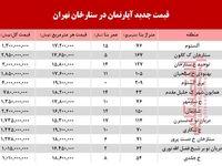 قیمت آپارتمان در محله ستارخان تهران +جدول