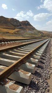 راهآهن قزوین - رشت در مراحل پایانی